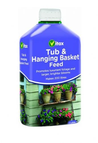Vitax Tub & Hanging Basket Feed 1 litre
